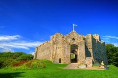 Oystermouth Castle (Jeffpmcdonald) Tags: oystermouthcastle castellystumllwynarth swanseabay gowerpeninsula mumbles wales uk nikond7000 jeffpmcdonald aug2016