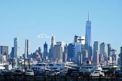 New York Skyline (Kevin Shriner) Tags: water view newyorkcity architecture newyork newjersey skyline