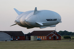 We have lift off ... (Ken Barley) Tags: airlander airlander10 airship bedfordshire cardington engineer firstflight hav hav304 hybridairvehicles