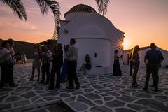 Wedding moments (Vagelis Pikoulas) Tags: wedding sun sunset sunburst kythnos island kyklades canon 6d tokina 2470mm view july summer 2016 people church europe greece travel holiday holidays