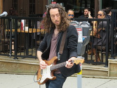Crazy Diamond (knightbefore_99) Tags: music commercialdrive carfreeday vancouver eastvan 2016 sunny busker cool june italian italy party awesome art crazy diamond play