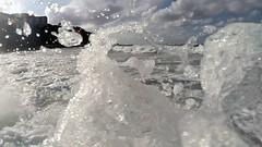 (Marine MTC) Tags: mer ocan vacances bretagne espagne france belle isle le en bilbao stand up paddle surf sun soleil phare lever vague nuage ciel couleur noir et blanc