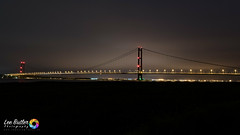 The Span (Lee Butler) Tags: boats bridge hull humber humberbridge river road sea