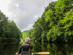 Canoeing (sgl0jd) Tags: canoe canoeing wye ross monmouth symonds yat trees paddling