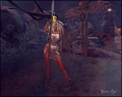 0823 1 - The Warrior (Nyenna.E) Tags: slink 7deadlyskins lelutka cosmopolitan envogue elegance