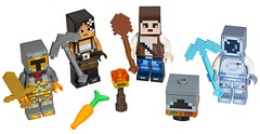 LEGO Minecraft 853610 Skin Pack characters (hello_bricks) Tags: minecraft lego legominecraft 853610 853609 skinpack toy toys minifig minifigures minifigure