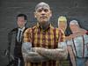 Björn - Swedish skinhead / tattoo artist at Margate. (Stoneybutter) Tags: björn kent margate portrait skinhead björnstam thanet tattoo tattoos sweden england