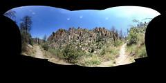Chiricahua National Monument - Echo Canyon Trail (adzamba) Tags: 2016 willcox arizona unitedstates usa chiricahuanationalmonument echocanyontrail sentiero 360 equirectangular equirettangolare formazionirocciose panorama vr vrflickr