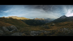 Milky Lake (Jeke's Photos) Tags: milkylake sunset valley mountain mountains clouds summer sky lake alpes vanoise parcdelavanoise 5dmiii canon canonef1635f28