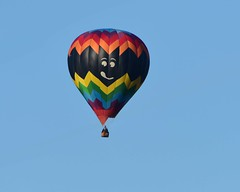 DSC_9393= Up, Up, and Away (laurie.mccarty) Tags: bluesky balloon outdoors hotairballoon