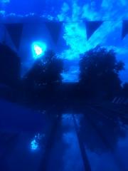 Ucac lap lanes with goggle view (karenchristine552) Tags: wet water swim philadelphia blue pool universitycityswimclub universitycity westphiladelphia swimming