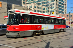 Toronto Transit #4111 (Jim Strain) Tags: jmstrain ttc toronto transit tram streetcar trolley train railroad railway vehicle