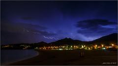 Thunderstorm - Thunderbolt (jyleroy) Tags: thunderstorm thunderbolt orage clairs europe france pyrnesorientales argelssurmer canon eos 700d rebel t5i mer sea mditerrane mediterraneansea