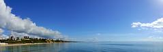 Looking East (SteveJM2009) Tags: sea seaside coast beach bournemouth dorset uk sun sunshine weather september 2016 autumn stevemaskell