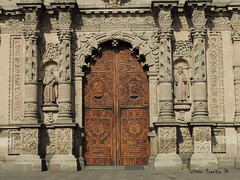 Detalle de Templo del Carmen (vonne) Tags: fachada templo carmen san luis potosi slp barroco churrigueresco iglesia centro historico mexico church