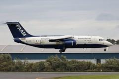 G-LUXE BAe146 FAAM (Dougie Edmond) Tags: prestwickairport plane airplane airport gluxe bae 146 bae146