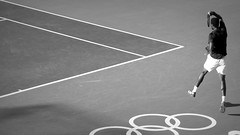 Rio 2016 (Henri Koga) Tags: 2016summerolympics henrikoga olympicgames rio2016 riodejaneiro summerolympicgames brasil brazil olympics gaelmonfils tennis