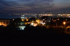 Lights in Naples (francomasella) Tags: lights night naples golfo sea