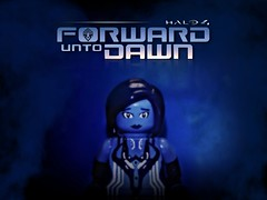 Halo 4 - Forward Unto Dawn Part II (MGF Customs/Reviews) Tags: 2 dawn lego infinity chief 4 halo master part requiem forward spartan covenant cortana unto lasky unsc promethean