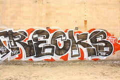 Recks (MR. NIC GUY ^.^) Tags: california streetart art graffiti losangeles los paint angeles culture spray nct gsf recks