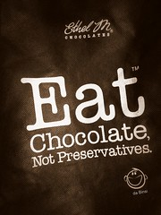 Eat Chocolate Not Preservatives (daBinsi) Tags: chocolate ethelm eatchocolatenotpreservatives
