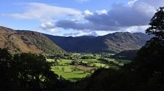 Borrowdale (richdown3rd) Tags: autumn light mountains rainbow lakedistrict wainwright derwentwater castlecrag borrowdale