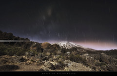 Stars of Kilimanjaro (bgspix) Tags: africa longexposure sun kilimanjaro mtkilimanjaro expedition night trek canon stars landscape tanzania star climb interesting nightshot top trails astro climbing summit moutain startrails ef1740f4l kilimandjaro uhurupeak rongai roofofafrica stellapoint 5895m nightphotoraphy topofafrica 5dmarkiii