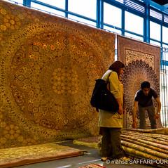 Persian Carpets (mahsa saffaripour) Tags: life city people color colour art carpet persian iran handmade arts hijab silk style exhibition rug iranian tehran rugs carpets attraction attractions