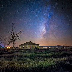 alice doesn't live here anymore, revisited (bugeyed_G) Tags: longexposure arizona sky abandoned nature night rural stars landscape nikon 24mm willcox milkyway tiltshift pce dimex vertorama stunningskies stealingshadows thepinnaclehof kanchenjungachallengewinner inspiredchoice bugeyedg k2challengewinner tphofweek173