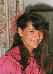 Young Lisa - Pretty Bridesmaid - 1980s (TempusVolat) Tags: old portrait woman cute girl beautiful beauty smile face vintage person photo nice scans pretty dress mr scanner good young earring like lisa spouse fringe pb curvy best scan teen ear attractive scanned bridesmaid favourites beautifulwoman wife keep epson brunette scanning browneyes favourite 1980s gw myfavourites gareth liked dusky perfection mywife tempus shapely keeper demure v200 farge verypretty morodo beautifulwife verybeautiful prettywife photoscanner epsonperfection volat younglisa mrmorodo garethwonfor lisafarge tempusvolat lisawonfor