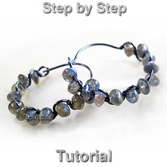Jewelry tutorial wire wrapped gemstone hoops earrings tutorial - DIY beaded wire wrap tutorial digital PDF (Arctida) Tags: autumn winter wedding summer woman black sexy fall texture halloween fashion digital silver circle ruffles grey idea design diy costume spring wire europe pretty pattern hammered sweden handmade witch unique formal adorable style wrapped wrap jewelry tribal jewellery gift trendy round statement hippie handcrafted casual accessories sverige pdf sterling earrings lesson chic elegant hoops boho ethnic wavy wicca witchcraft couture bohemian beaded tutorial scandinavian whimsical haute pagan intricate filigree oxidized gemstone ruffled handforged arctida