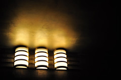 Yellow Illumination (Elizabeth Hagearty) Tags: new york city color monochrome beauty yellow lights illumination