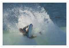 The Surfer (5/x) (-Joe'S-) Tags: ocean sea mer water sport eau surf surfer board wave 7d vague planche bodyboard watersport paysbasque anglet