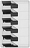 Balconies (San Francisco) (manuela.martin) Tags: sanfrancisco california blackandwhite bw usa architecture sfo architektur balconies kalifornien abstractarchitecture contemporaryarchitecture modernearchitektur schwarzundweis