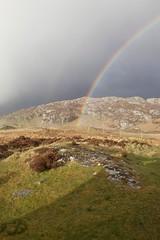 Rainbow at Clashnessie (trinamc81) Tags: scotland rainbow assynt clashnessie