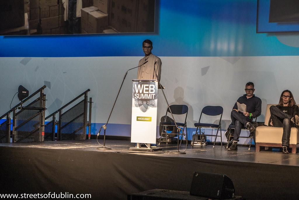 Carl Waldekranz - Spark Of Genius Start-up Competition: Web Summit 2012 (Dublin)