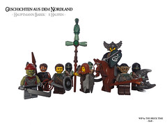 Hptm. Bareks Haufen (THE BRICK TIME Team) Tags: brick lego tales wip northland moc nordland grimmhavn