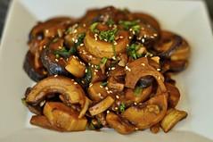 Stir Fried Bamboo Shoots with Shiitake Mushrooms (powerplantop) Tags: mushrooms with dish very bamboo vegetarian friendly stir shoots simple fried shiitake