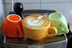 latte art (nodie26) Tags: art cup water coffee hearts leaf cafe heart tea drink espresso latte