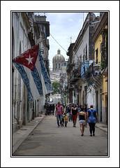 Havana Street (Joseph Molinari) Tags: street travel holiday tourism calle nikon tour flag  havana cuba may visit tourist be cuban habana turismo without vacaciones permission kuba lahabana reproduced d90 nikkor18105vr