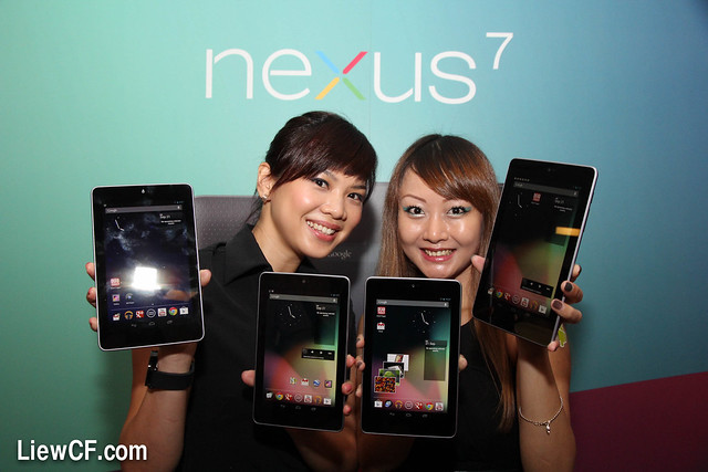Google Nexus 7 tablet launch in Malaysia