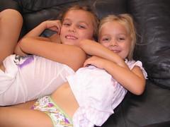 Pajama Sisters (Beauty Playin 'Eh) Tags: sisters smilinggirls happygirls pajamagirls