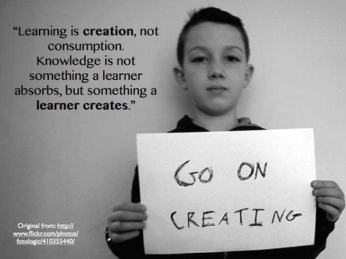 Creation and Consumption by gcouros, on Flickr