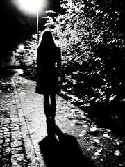 Silhouette (Yves Roy) Tags: street city shadow urban blackandwhite bw black silhouette contrast dark austria blackwhite raw moody 28mm snap fav20 explore yr fav10 ricohgrd grdiii yvesroy yrphotography nightgrdiii