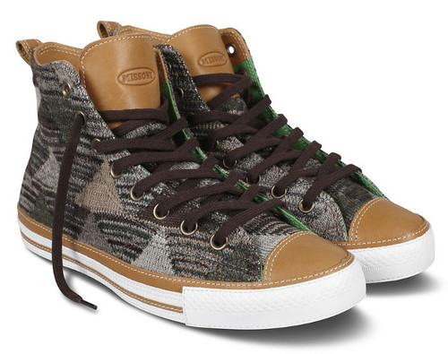 CONVERSE X MISSONI HOLIDAY 2012 COLLECTION