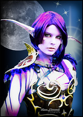 Miranda (rtencati) Tags: wow model purple cosplay warcraft fantasy ethereal nightelf rontencatiphotography