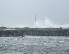 Stormy (Larsenio) Tags: ocean winter sea storm nature norway coast norge waves pentax norwegen stormy dslr landskap sj seascpae ahv norvegen sjlandskap