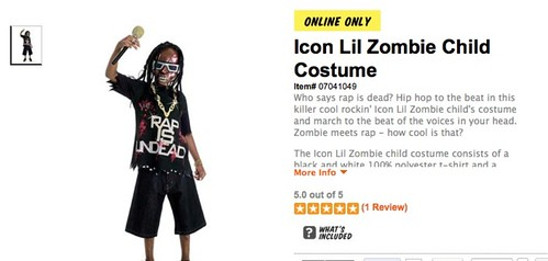 LIL WAYNE AND NICKI MINAJ HALLOWEEN COSTUMES