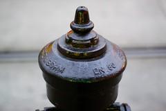 Wien (austrianpsycho) Tags: vienna wien detail metal hydrant abend metall dn80 mariahilferstrase