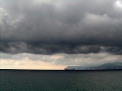 A Hope For Sandy (fotomie2009) Tags: sea italy costa storm clouds coast riviera italia nuvole mare liguria di capo noli ligure ponente